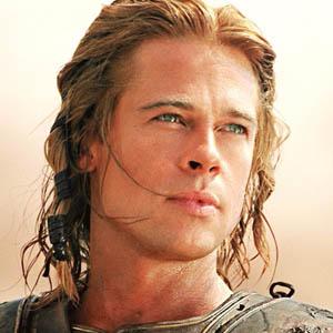 Imagen de Brad Pitt en Troya