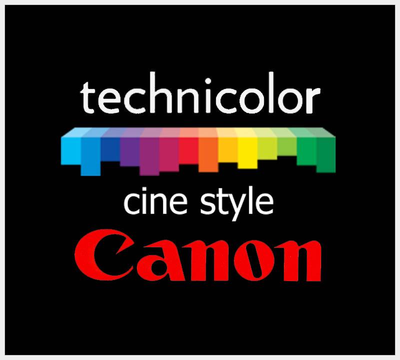 Estilos de imagen en cámaras Canon / Cinestyle - Escuelacine com