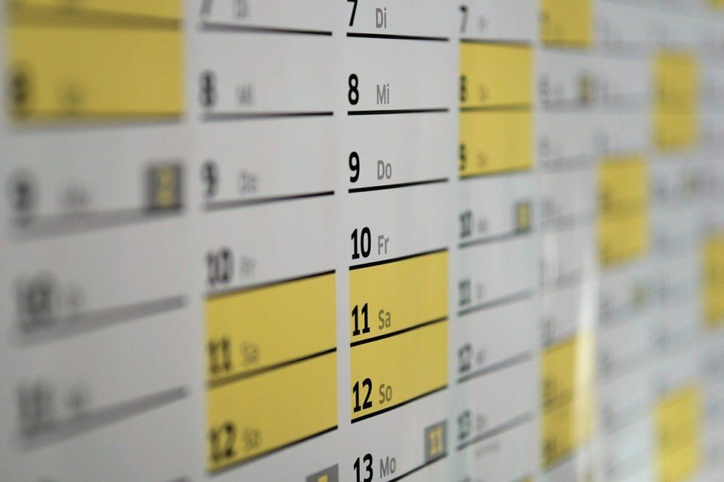 Crear un calendario de postproducción